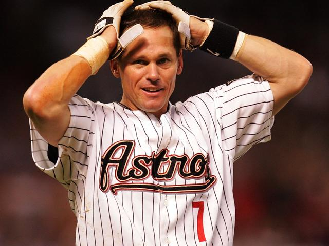 Craig Biggio, incredulous, and rightly so