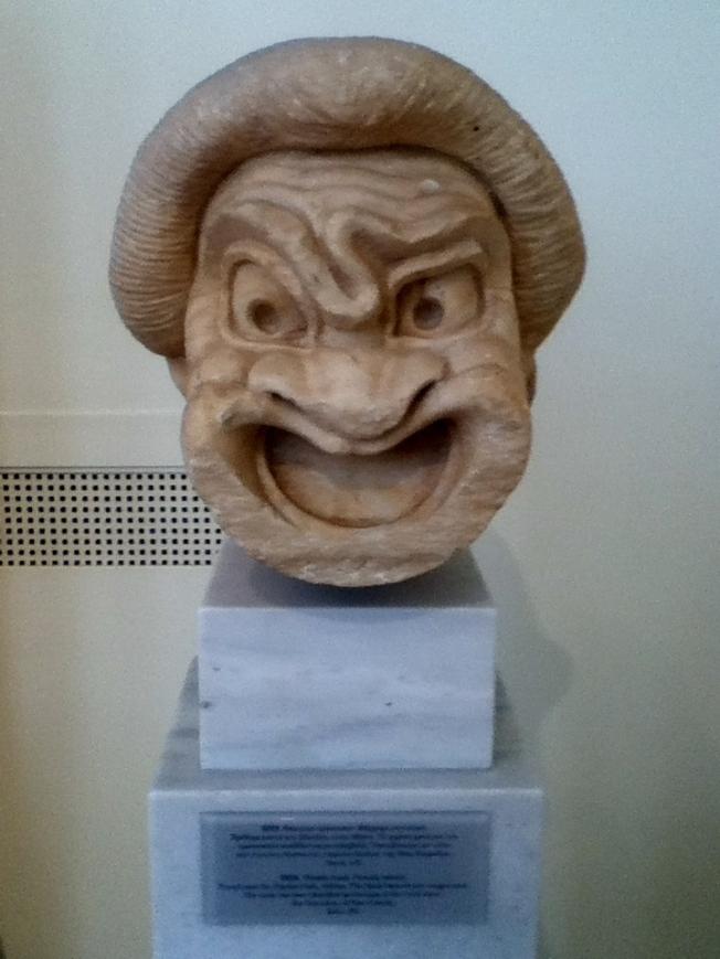 Funerary mask of Aristonautes, son of Archenautes