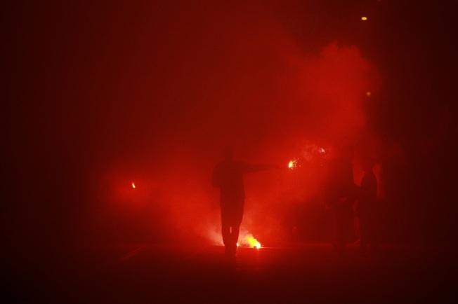 Celebration in Sarajevo